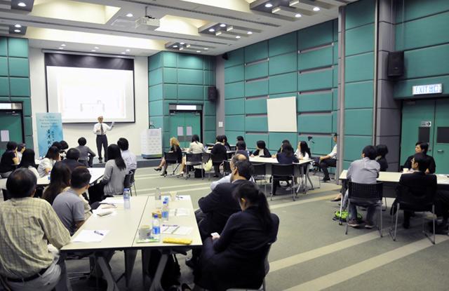 新加坡管理大學法律學者Prof. David Smith探討調解與道德決定