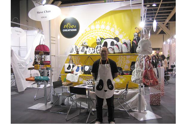 Steve指參加香港時裝展可藉此平台的優勢,接觸眾多來自全球的買家,帶領香港品牌走向國際。