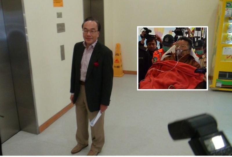 梁家傑表示劉夢熊的精神狀況可以。