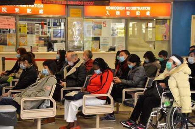 流感高峰下公立醫院服務使用量爆滿。
