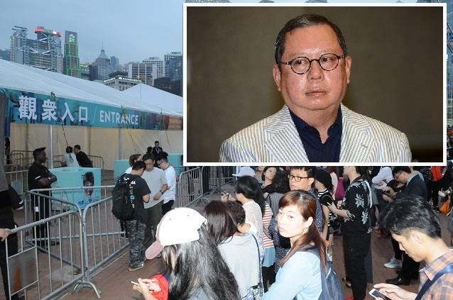 林建岳表示,個唱場地必定保障歌迷安全。資料圖片