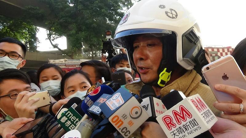 消防處署理助理處長江炳林。