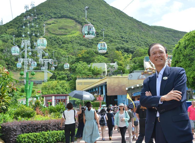 海洋公園新任行政總裁李繩宗。