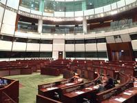 立法會財委會召開會議。