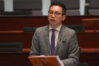 公民黨楊岳橋表示或會增加發言。資料圖片