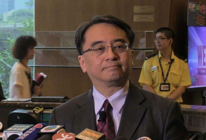 金澤培表示,港鐵於2014年知悉事件時已馬上作出跟進。