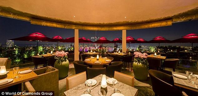 餐廳推出全球最奢華的18道菜晚餐。網圖