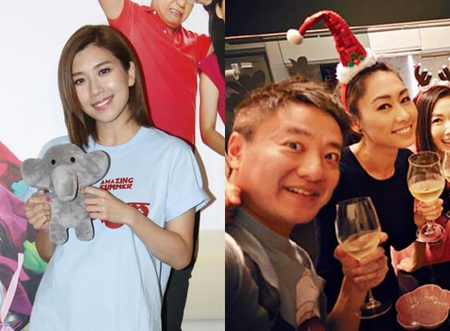 黃智雯表示只要定欣開心作為姊妹會支持。