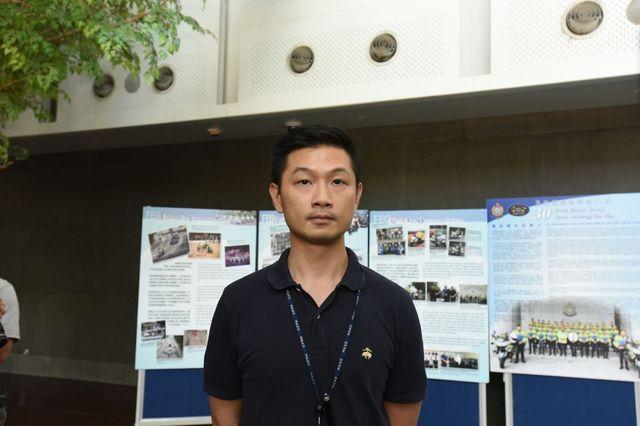 趙建業指政治背景及立場非警方考慮因素。