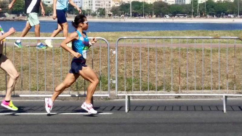 香港田徑代表姚潔貞。(相片由田總提供)