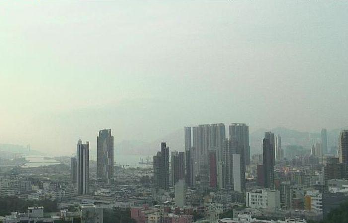 今日天氣大致天晴。