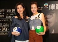 黃智雯、李佳芯出席宣傳活動。