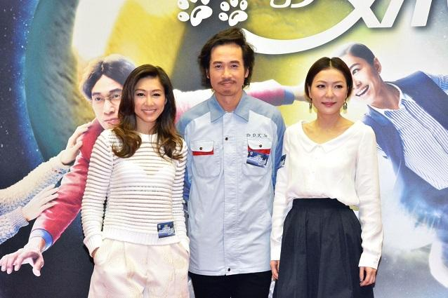 田蕊妮、胡定欣及陳豪新劇再度合作。