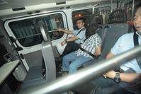 小巴司機被押返西九龍總區交通部。黃文威攝