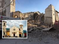 600年的教堂被夷平。網圖