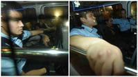 兩名越南籍男子被捕。 羅振輝攝