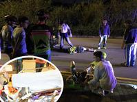 郵輪碼頭昨晚發生車禍,23歲男子不治。