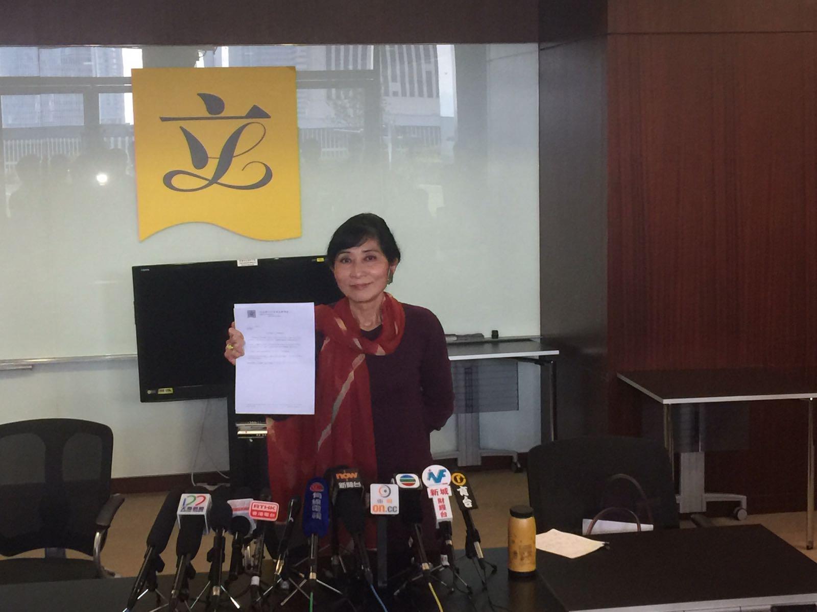 毛孟靜日後會以「 香港本土」 成員身分現身。孫林攝