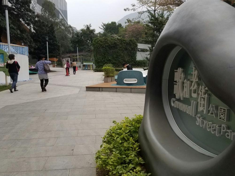 兩人相約在九龍塘歌和老街公園見面。