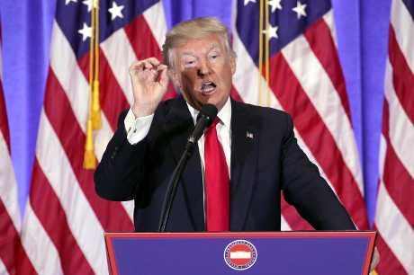 美國總統當選人特朗普。新華社