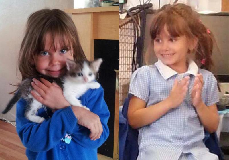 遇害女童凱特。