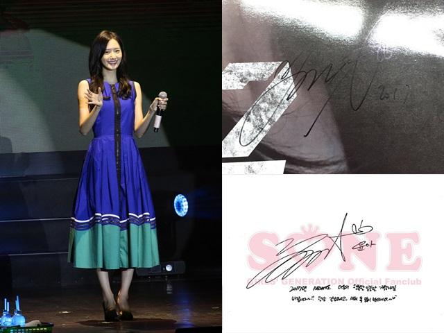 潤娥表現好,但被彈活動多錯漏,簽名跟以前對比有不同。