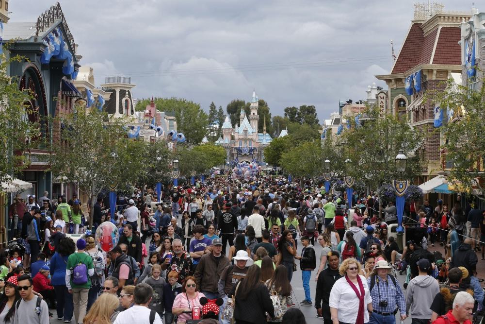 美国加州迪士尼假钞猖獗。