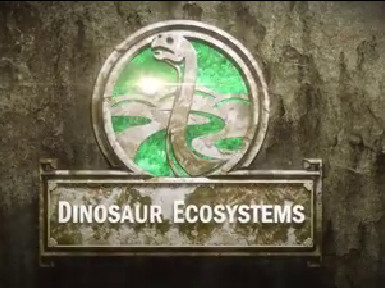 「恐龍的生態系統」網上課程,採用不少「特技」效果的動畫、圖畫及景像。