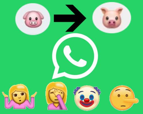 「豬樣」2D變 3D,多個Emoji登場。