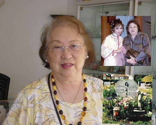 翁美玲媽媽上月辭世,將與愛女合葬劍橋公墓。