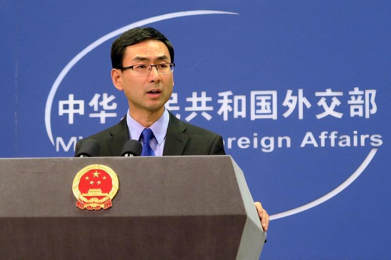 外交部發言人耿爽表示,強烈不滿南韓樂天為薩德供地。