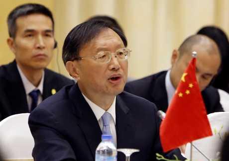 楊潔篪是特朗普就職以來,第一位到訪白宮的中國領導官員。AP