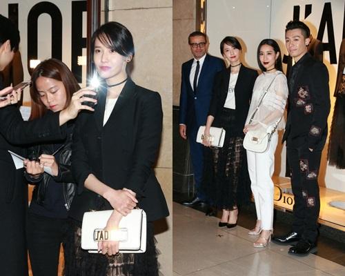 潤娥受訪只回答大會指定問題;周柏豪、吳雨霏等一同現身活動。