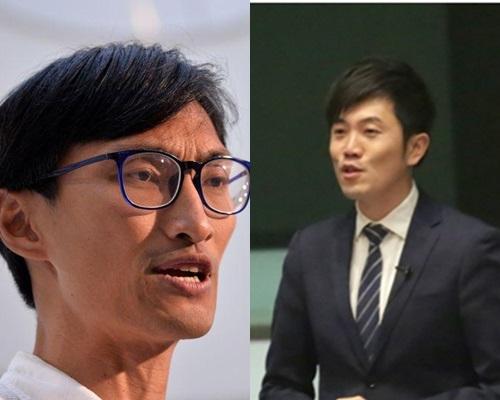 市民入稟高院,指朱凱廸鄭松泰宣誓違反《基本法》。資料圖片