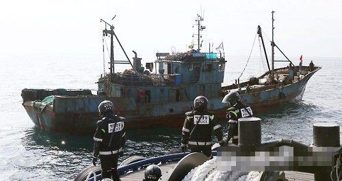 南韓成立特別警備團,嚴打越境非法捕撈中國漁船。