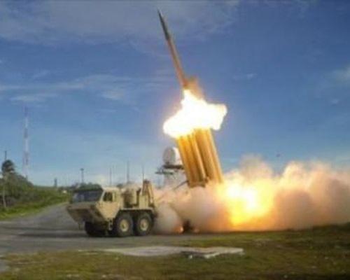 薩德反導彈系統。網圖