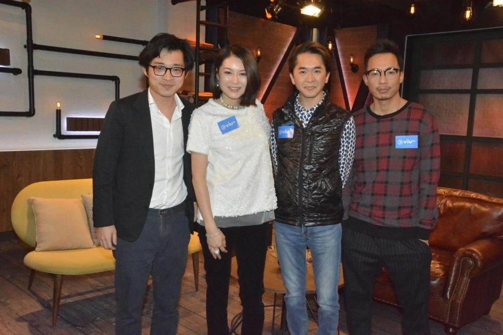鄧兆尊、林作接受ViuTV節目訪問。