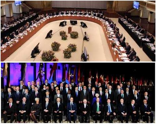 20國集團財政部長發表聯合聲明。
