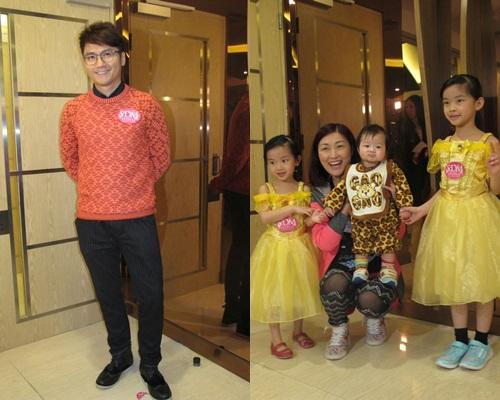 高皓正、陳琪與子女都有到場。