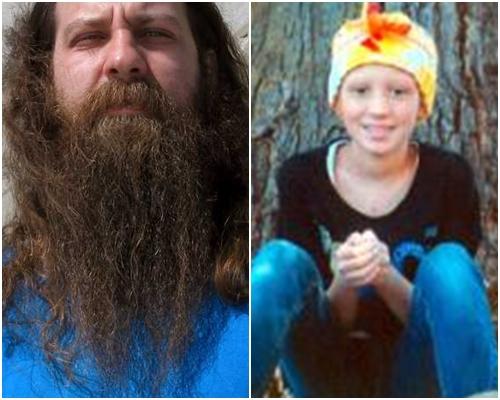 斯特奇為了愛女而參加比賽,特地留了長長的鬍子。網圖