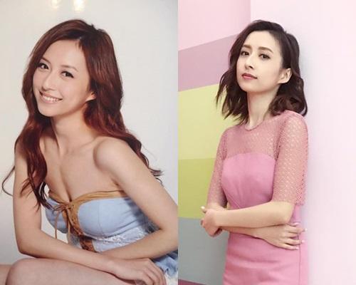 19歲的龔嘉欣(左),跟現年27歲的她(右)分別真不太大。