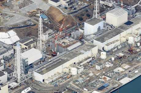 福島核反應堆底部核污水檢出高輻射量。中央社資料圖片