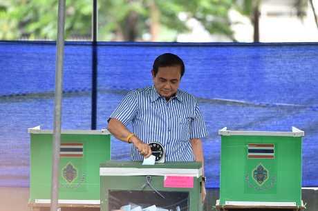 泰國總理帕拉育。中央社