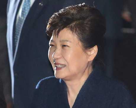 朴槿惠將成為南韓歷來第四位被檢方傳訊的總統。AP圖片
