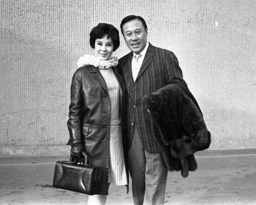 李麗華與老公嚴俊