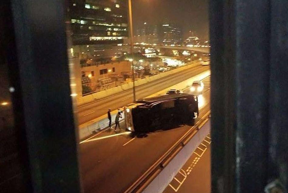 小心駕駛fb群組。網民Ste Ming Leung攝
