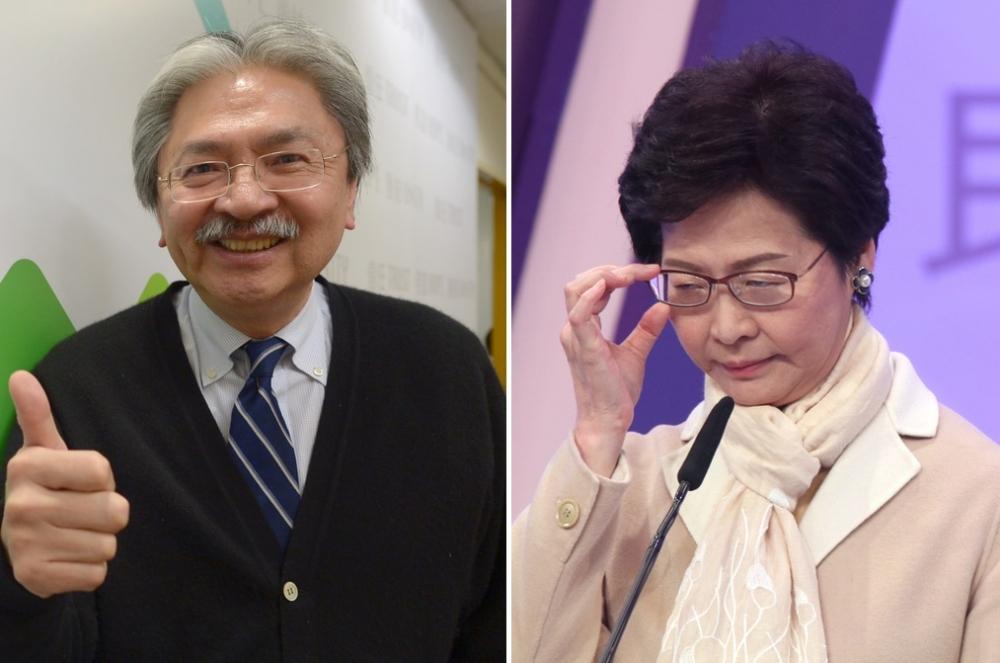 「民主300+」98%選委支持曾俊華,但一致拒投林鄭 。