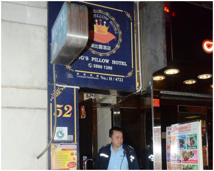女子在酒吧結識外籍男子後,2人一同前往酒店。