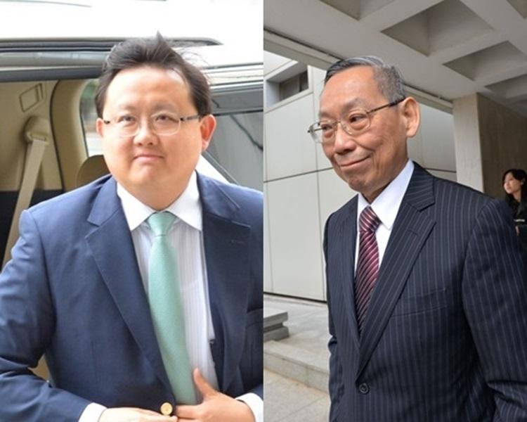 黃英豪(左)和尹應能(右)。資料圖片