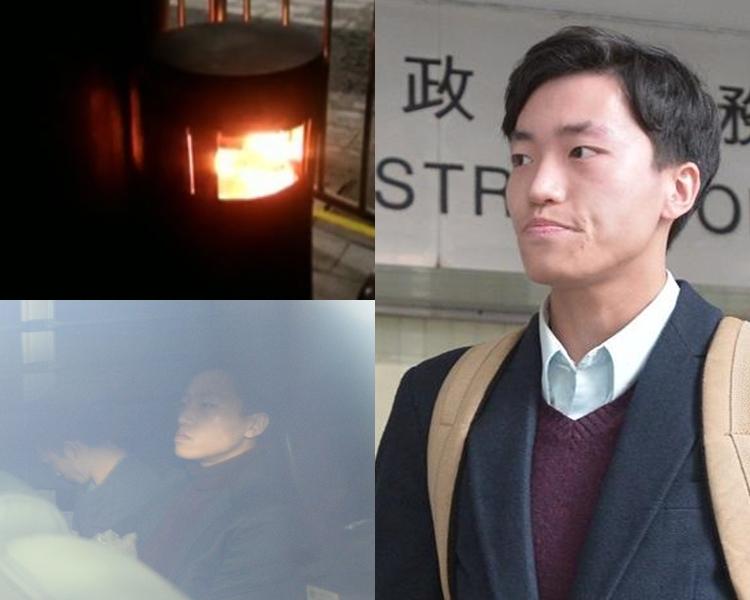第二被告楊逸朗判囚兩年。資料圖片
